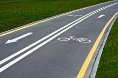 Bike Path Royalty Free Stock Photo
