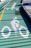 Bike Path Stock Images