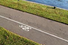 Bike path Royalty Free Stock Photos