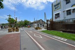 Bike Path in Kaohsiung Stock Photography