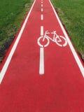Bike path Royalty Free Stock Image
