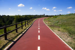 Bike Path stock photography