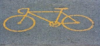 Bike Path Symbol Royalty Free Stock Photos