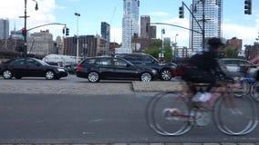 Bike Path stock footage