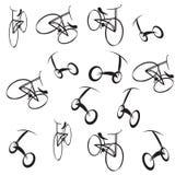 Bike pattern Royalty Free Stock Image