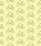 Bike pattern Royalty Free Stock Images