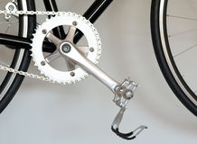 Bike pedal Stock Image