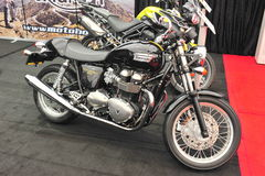 Triumph motorcycle Royalty Free Stock Images
