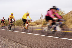 Bike Race 2 Royalty Free Stock Photos