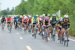 Bike race Stock Photo