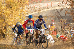 Bike race Stock Photography