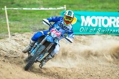 Bike racer Stock Images