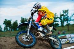 Bike racer Royalty Free Stock Photos