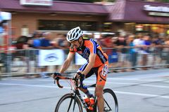 Bike racer Royalty Free Stock Image