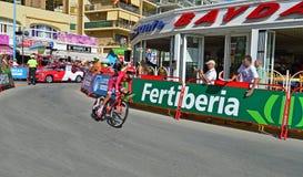Bike Racing Time Trial Team Katusha Stock Image