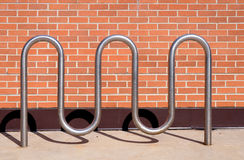Bike rack Royalty Free Stock Photos