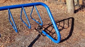 Bike rack Stock Photo