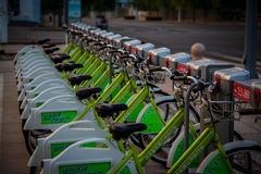 Bike Rack Royalty Free Stock Images