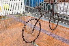 Bike rack Stock Photography