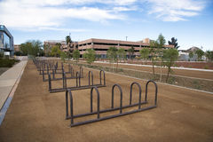Bike Racks Royalty Free Stock Photo