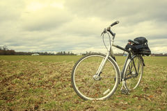 Bike ready to travel Stock Photography