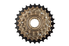 Bike rear cassette, stars of speeds. Royalty Free Stock Images