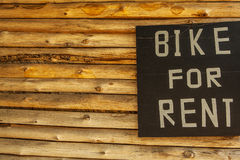 Bike for rent Royalty Free Stock Image