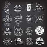Bike rental, design concept. Stock Photo