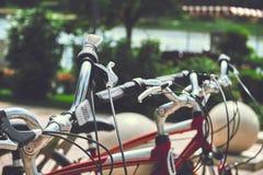 Bike rental Stock Images