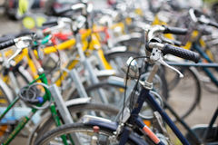 Bike rental service Royalty Free Stock Photo