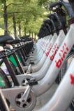 Bike rental service Royalty Free Stock Photography