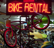 Bike rentals Royalty Free Stock Photo