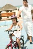 Bike ride Stock Image