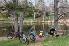 Bike ride Royalty Free Stock Photo