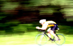 Bike rider Stock Images