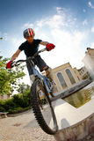 Bike rider Royalty Free Stock Photos
