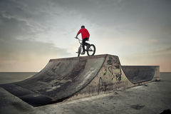 Bike rider Royalty Free Stock Photography