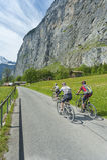 Bike Riders Stock Photography