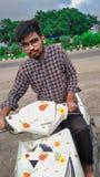 Bike riding royalty free stock image
