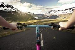 Bike riding Royalty Free Stock Photo
