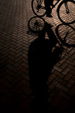 Bike riding Stock Images