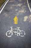 Bike road Stock Photos