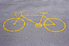 Bike road Royalty Free Stock Photo