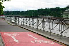 Bike road Royalty Free Stock Images