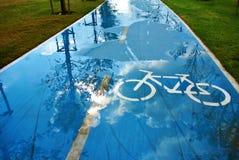 Bike road Stock Images