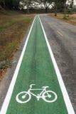 Bike road Royalty Free Stock Photos