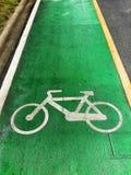 Bike road Stock Photo