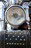 Bike's headlight Royalty Free Stock Images