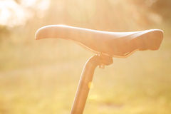 Bike saddle Royalty Free Stock Images