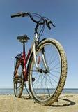 Bike at the sea. Royalty Free Stock Photos